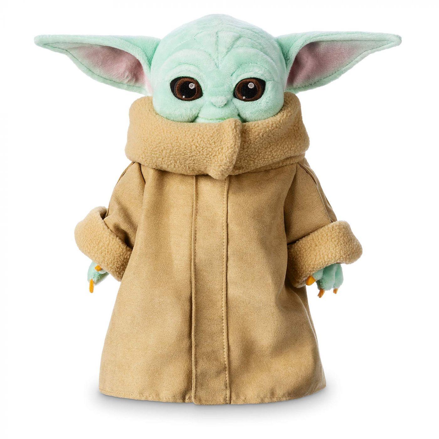 Малыш Йода плюшевая игрушка