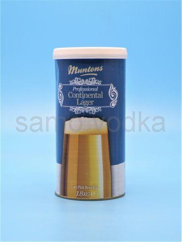 """Солодовый экстракт Muntons """"Continental Lager"""", 1,8 кг"""