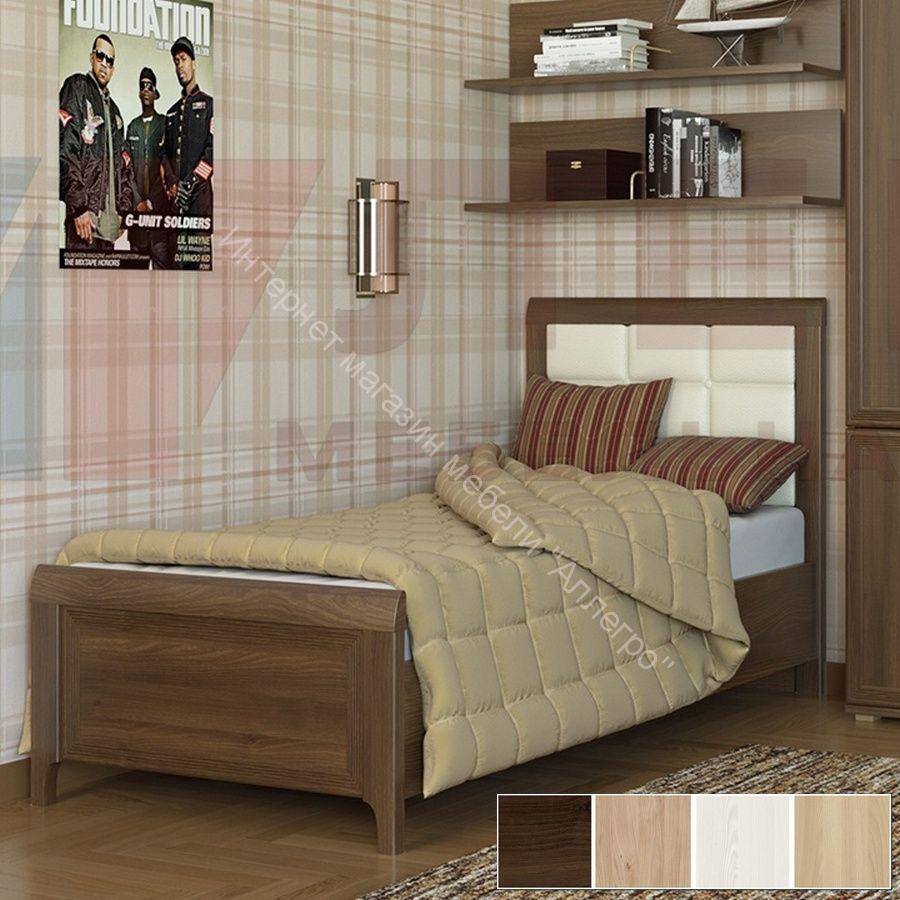 Кровать КР-1035 (0,9х1,9) Карина
