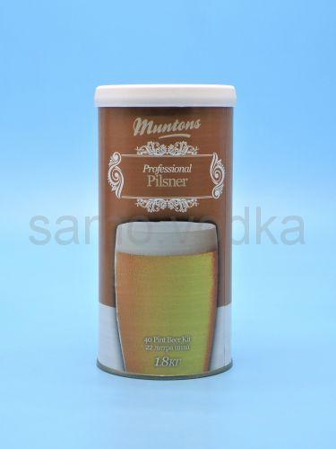 """Солодовый экстракт Muntons """"Pilsner"""", 1,8 кг"""