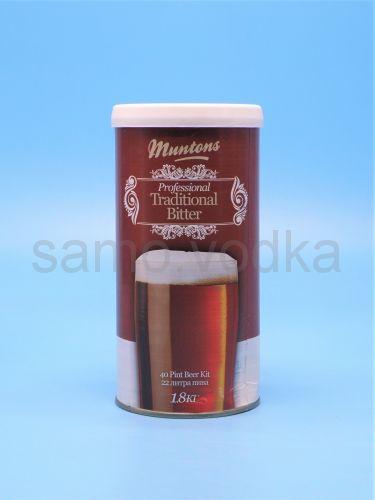 """Солодовый экстракт Muntons """"Traditional Bitter"""", 1,8 кг"""