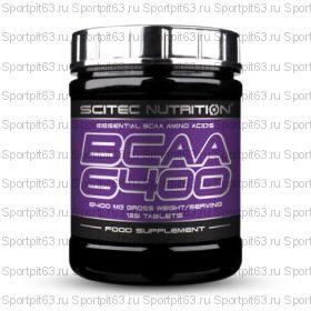 SCITEC NUTRITION BCAA 6400 125 ТАБ