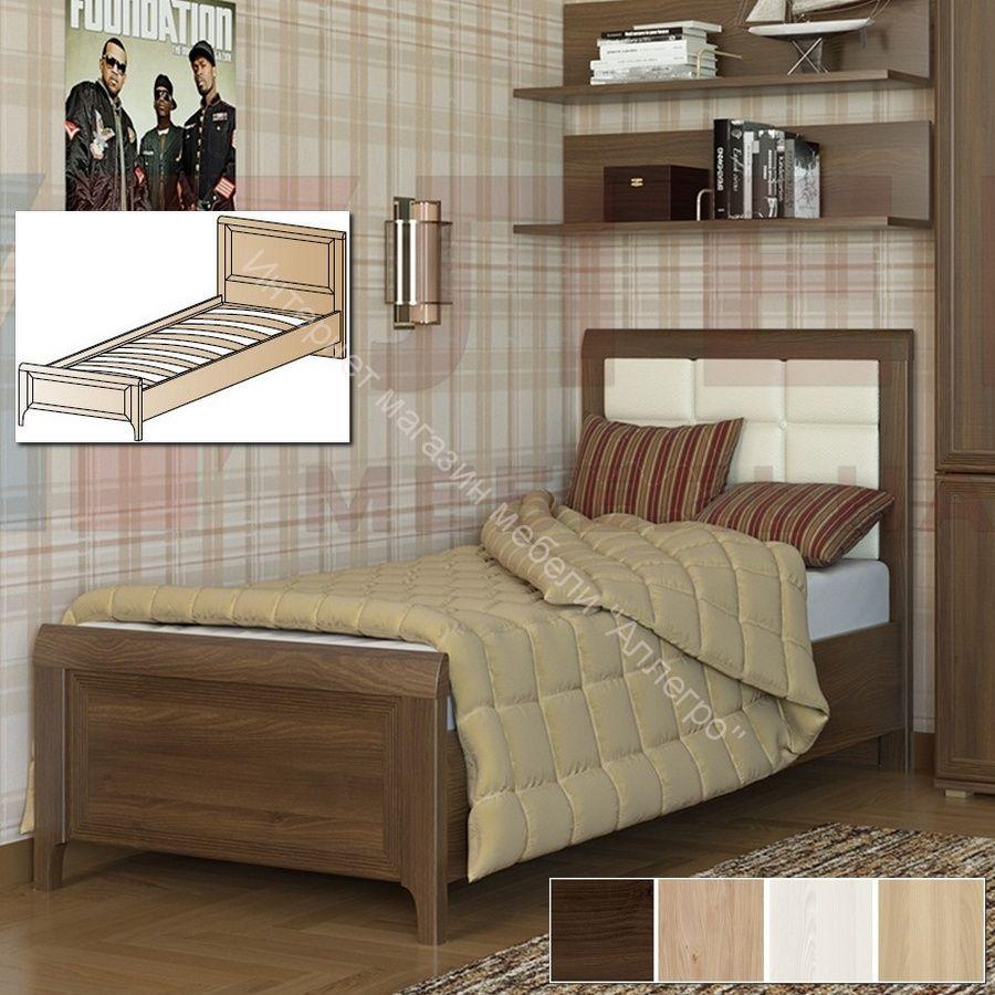 Кровать КР-1025 (0,9х1,9) Карина