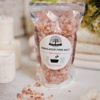 Розовая гималайская соль 500 г (крупный помол)