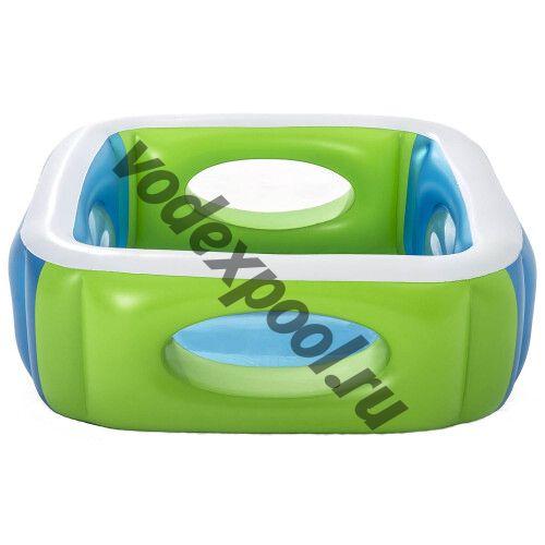 Детский надувной бассейн Bestway 51132 (168х168х56 см) 565 л