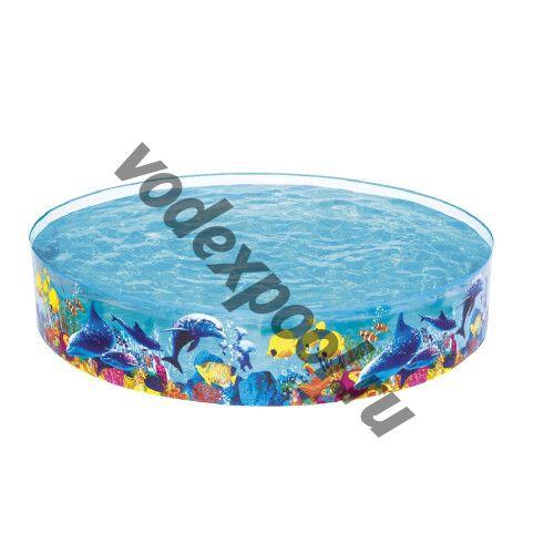 Детский надувной бассейн Bestway 55031 Fill 'N Fun Odyssey (244х46 см)