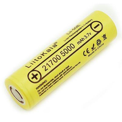 Аккумулятор LiitoKala Lii-50E 21700 5000мАч, без защиты