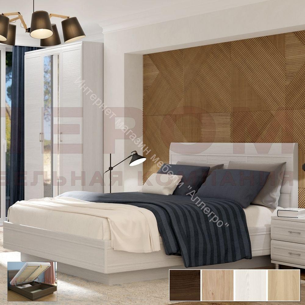 Кровать КР-1804 с  П/мех (1,8х2,0) Мелисса