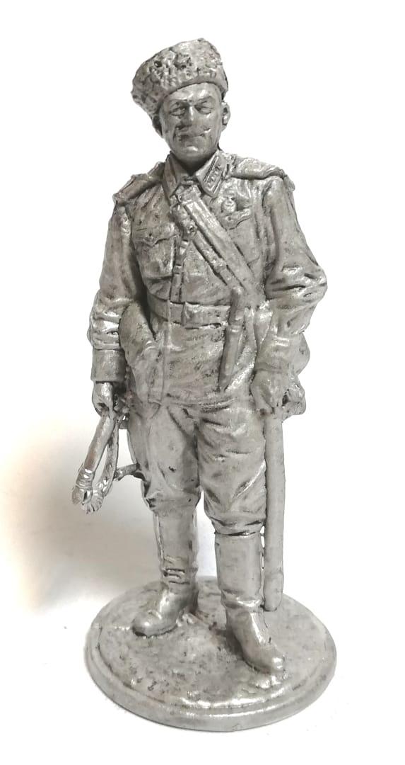 Фигурка кавалерист олово