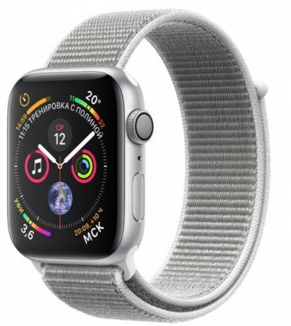 Apple Watch Series 4 GPS 44mm Loop Silver