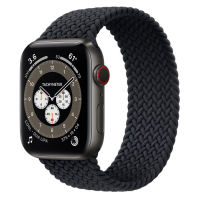 Часы Apple Watch Edition Series 6 GPS + Cellular 44mm Space Black Titanium Case with Charcoal Braided Solo Loop