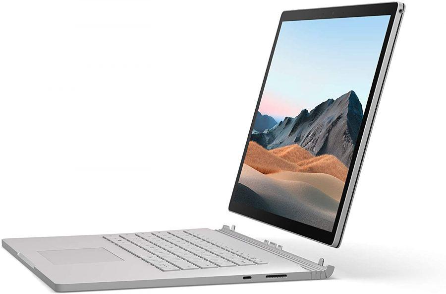 "Ноутбук Microsoft Surface Book 3 13.5 (Intel Core i5 1035G7 3700MHz/13.5""/3000x2000/8GB/256GB SSD/DVD нет/Intel Iris Plus Graphics/Wi-Fi/Bluetooth/Windows 10 Home)"