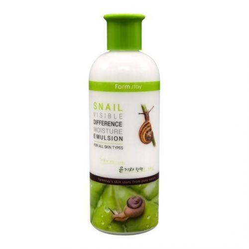 957279 FarmStay Увлажняющая эмульсия с муцином улитки Snail Visible Difference Moisture Emulsion
