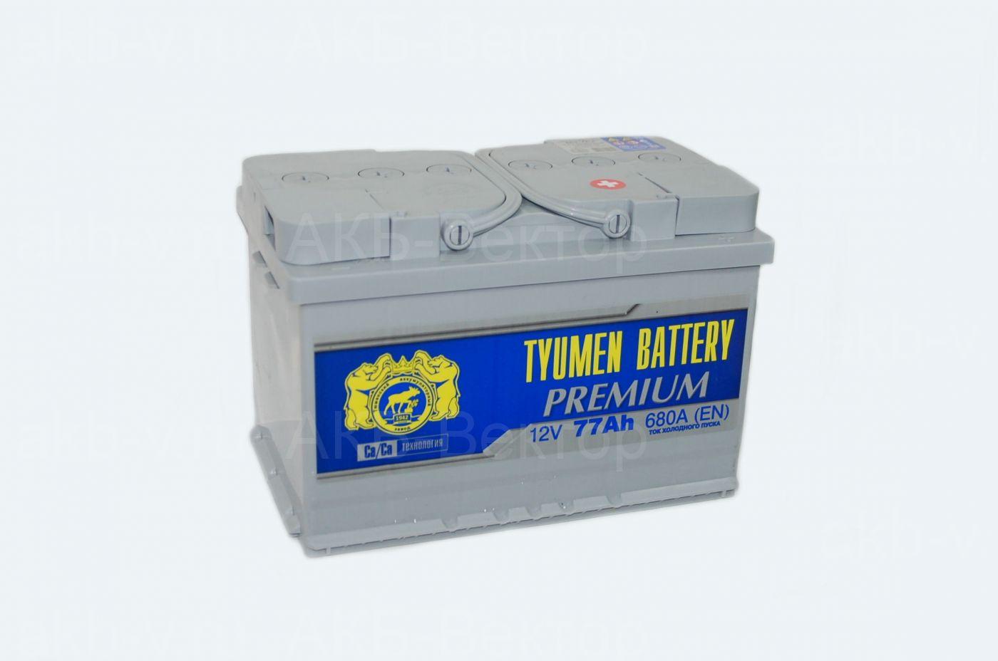 Tyumen Premium 77Ач 680А(EN)