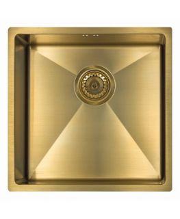 Мойка Seaman Eco Marino SME-440 Light gold (PVD, Gold 2 светлое золото,под столешницу