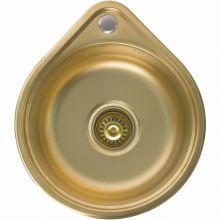 Мойка врезная Seaman Eco Wien SWT-3945 Antique Gold PVD, Matt *12  золото