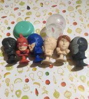 Игрушки для капсул Герои Марвелз 5,10₽/ед.