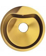 Мойка кухонная врезная Seaman Eco Roma SMR-510A-Gold. без отверстия под смеситель