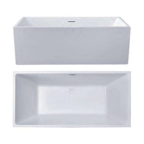 Отдельностоящая прямоугольная ванна Hatria Y7AZ 170х74 ФОТО