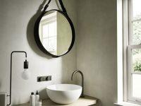 Круглое зеркало без подсветки Hatria Area схема 1
