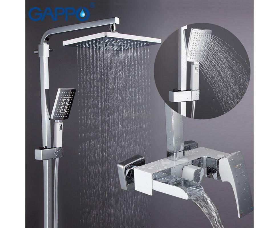 Смес ванна 40мм FRAP/GAPPO G2407 душевой гарнитур