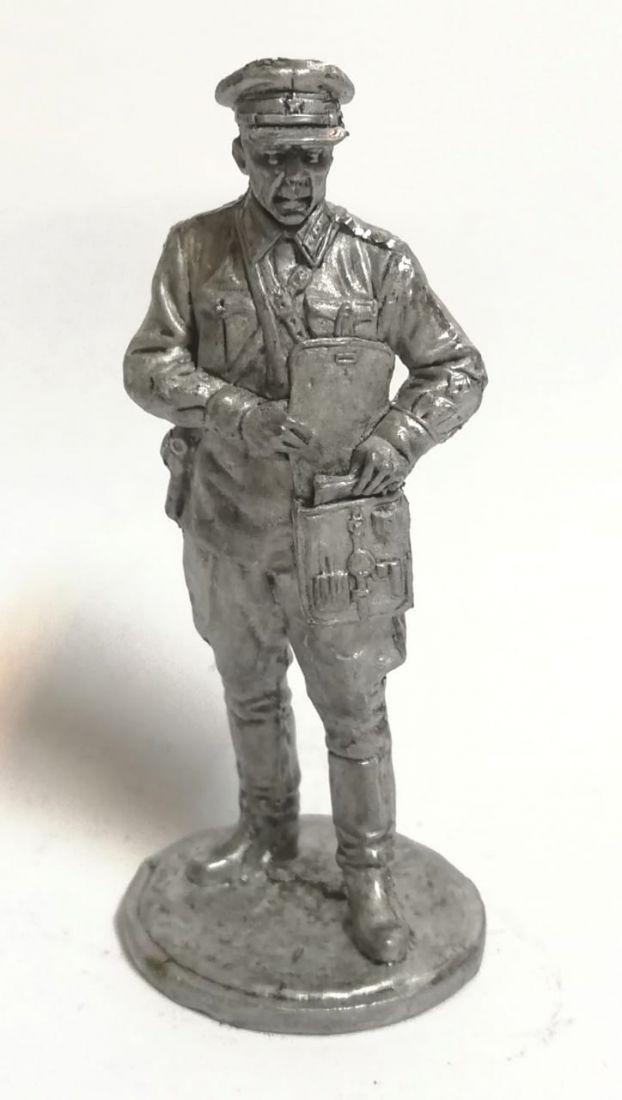 Фигурка офицер с планшетом