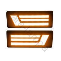 Указатель поворота на Ниву светодиодный полоски (тюнинг)