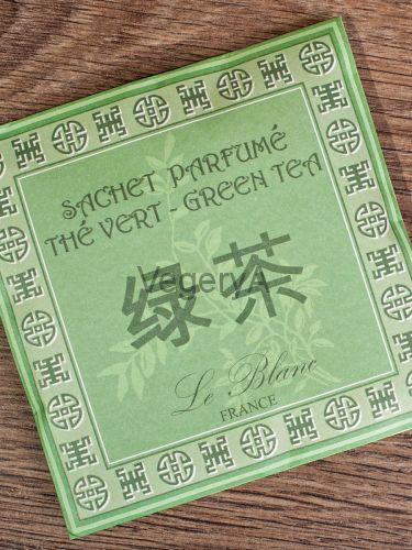 Ароматическое саше в бумажном пакете Le Blanc Зеленый чай