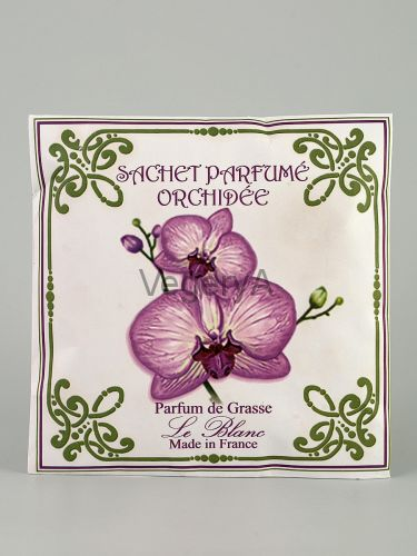 Ароматическое саше в бумажном пакете Le Blanc Орхидея