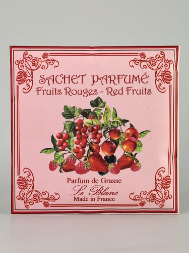 Ароматическое саше в бумажном пакете Le Blanc Красные ягоды