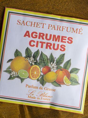 Ароматическое саше в бумажном пакете Le Blanc Цитрусовые