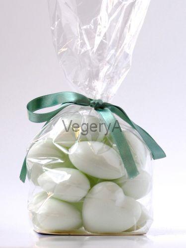 Натуральное ароматическое мыло Le Blanc Сердечки Зеленый чай