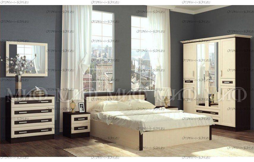 Спальня Грация, модульная