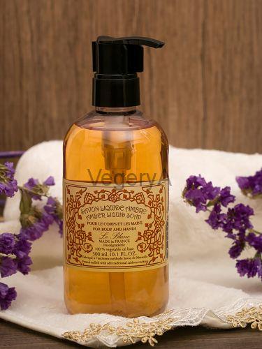 Ароматическое жидкое мыло с дозатором Le Blanc Амбра