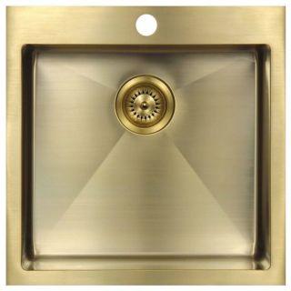 Мойка врезная Seaman Eco Marino SMV-600 Light Gold (PVD Gold 2) светлое золото