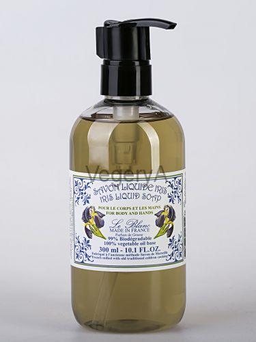 Ароматическое жидкое мыло с дозатором Le Blanc Ирис