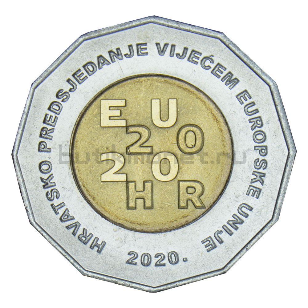 25 кун 2020 Хорватия Председательство Хорватии в Совете ЕС 2020