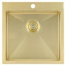 Мойка врезная Seaman Eco Marino SMB-5151S Light gold (PVD, Gold 2),   светлое золото