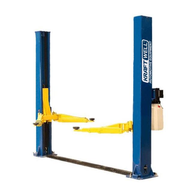 KraftWell KRW4DLM/220_blue Подъемник двухстоечный г/п 4000 кг. электрогидравлический