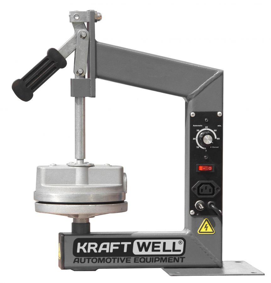 KraftWell KRW08VL Вулканизатор настольный с таймером