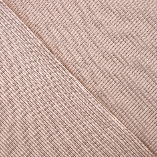 Трикотаж кашкорсе - Пудрово-бежевый 50*28 см.