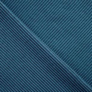 Трикотаж кашкорсе - Сине-зеленый 50*28 см.