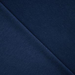 Лоскут трикотажной ткани - Темно-синий 50*30 см.