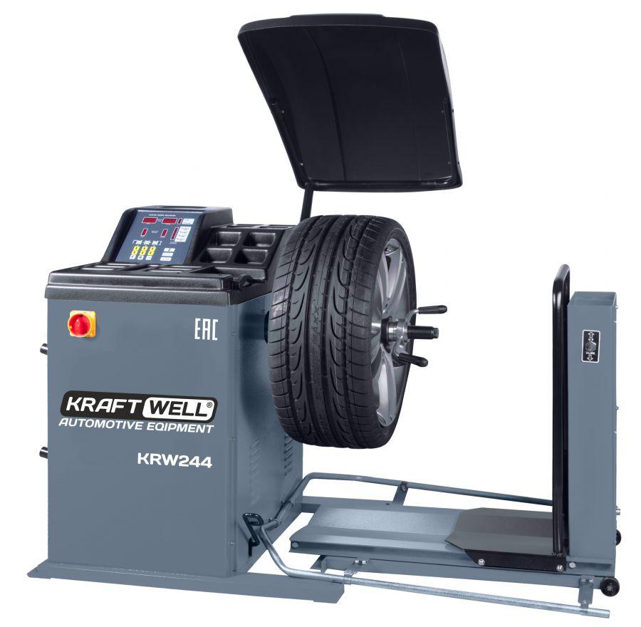 KraftWell KRW244 Балансировочный станок для колес грузовых автомобилей