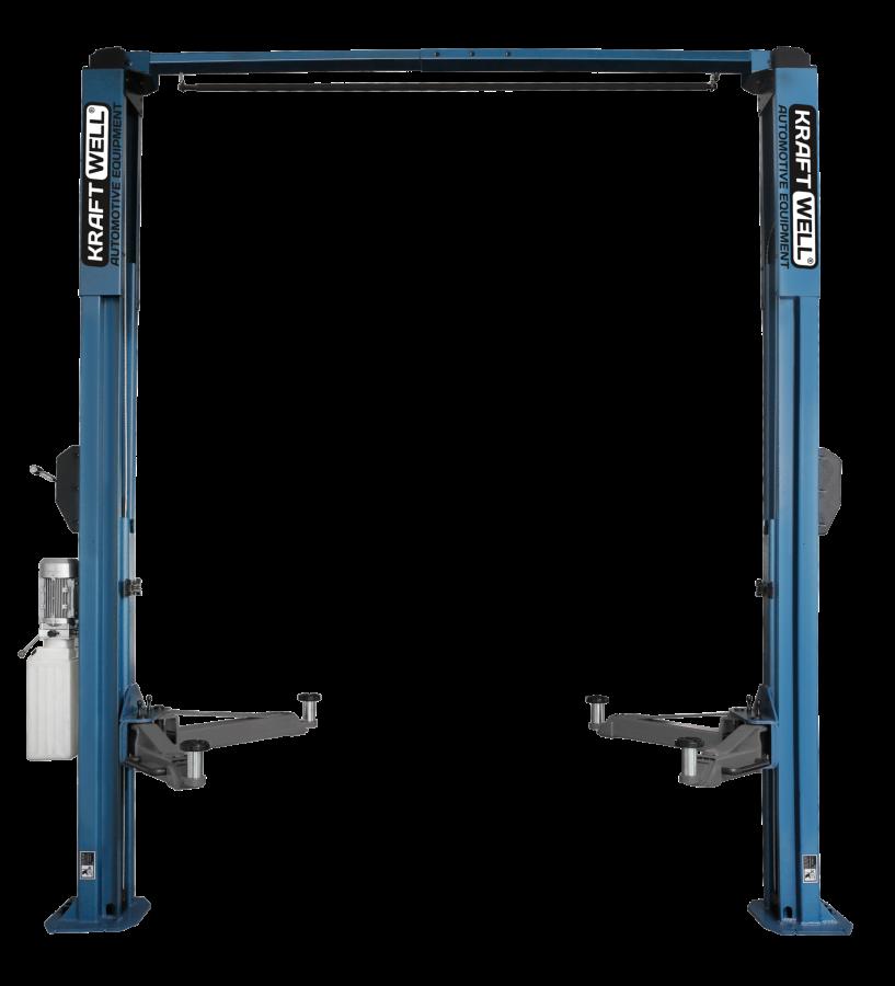 KraftWell KRW4MU_blue Подъемник двухстоечный г/п 4000 кг. электрогидравлический