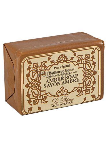 Мыло Le Blanc в бумажной упаковке Амбра