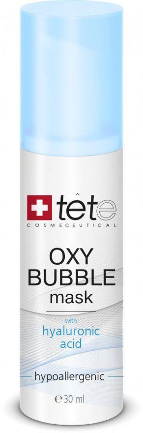 Кислородная пенная маска  TETe OXY BUBBLE MASK