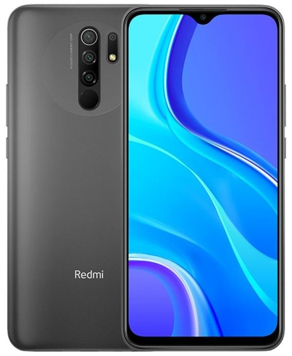 Смартфон Xiaomi Redmi 9 4/64Gb NFC Carbon Grey