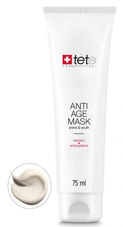 Омолаживающая маска с витаминами и антиоксидантами TETe Anti-age Mask Vitamins and Antioxydants