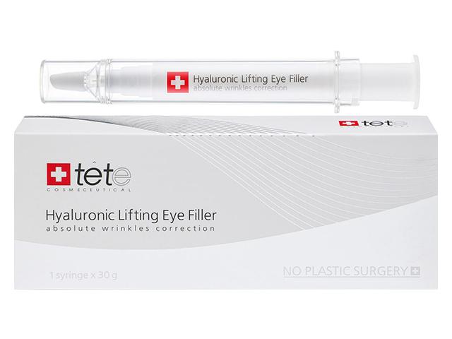 Гиалуроновый филлер для век с подтягивающим эффектом TETe Hyaluronic lifting eye filler